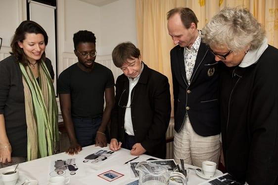 The international jury in session © Janus van den Eijnden